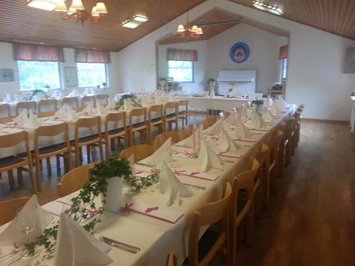 Hallbystugan dukad till Bröllop